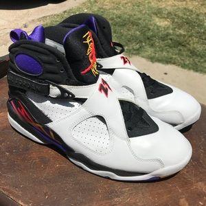 """Air Jordan retro 8 """"3Peats"""" size 8"""